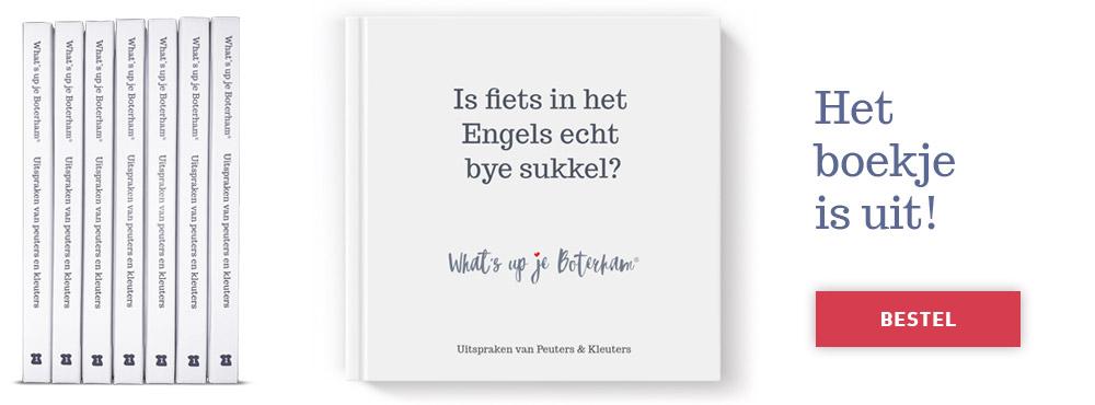 Het eerste Boterhamboekje 'editie Peuters & Kleuters' is uit!  Hierin vind je een verzameling van 100 nog niet eerder gepubliceerde Boterhammen.